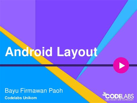 android layout design ppt basic android layout