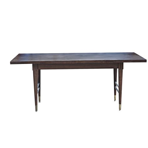 modern dining table vintage mid century modern dining table ebay
