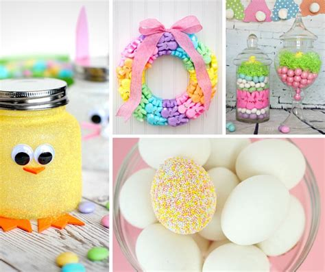 easter decorations to make for the home 35 gorgeous easter decorations frugal mom eh
