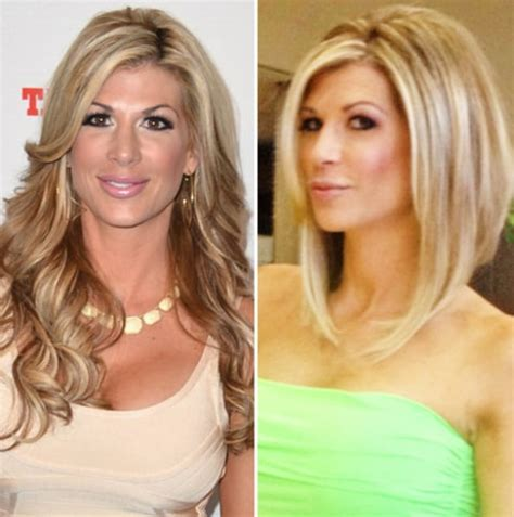 hairstyles from house wives of orange county real housewives of orange county s alexis bellino chops