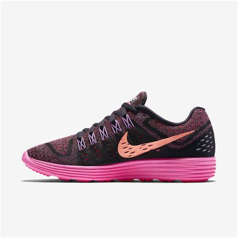 nike womens running shoes black and pink nike womens lunartempo running shoes black pink pow