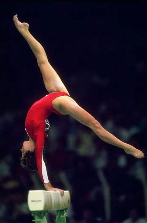 usa gymnastics national chions acrobatic gymnastics phoebe mills united states on balance beam at the 1988