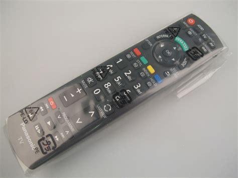 Remote Tv Panasonic Led Lcd 2 panasonic viera n2qayb000572 n2qayb000752 genuine plasma
