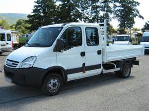 iveco daily 35c15d cabine benne decarre
