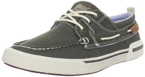 bass boat shoes mens bass mens oliver boat shoe in brown for men green lyst