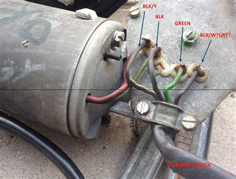 wiper motor wiring help earlybay forums