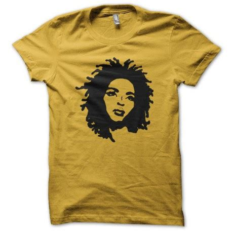 lauryn hill vintage t shirt t shirt lauryn hill miseducation silhouette yellow