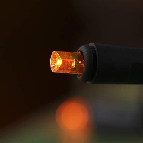 orange led string lights orange bulb and black cord led string lights lighting