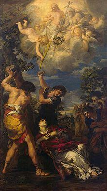 Gloria Dei 1664 by Pietro Da Cortona