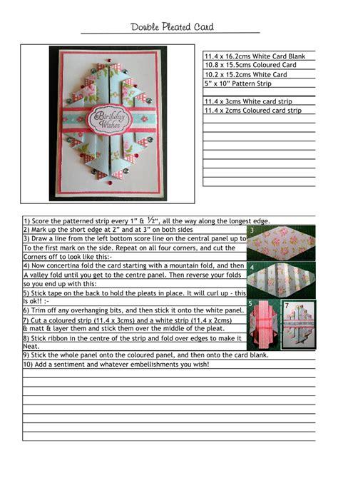 Paper Folding Cards Techniques - card fold techniques en tutoriales de tarjetas