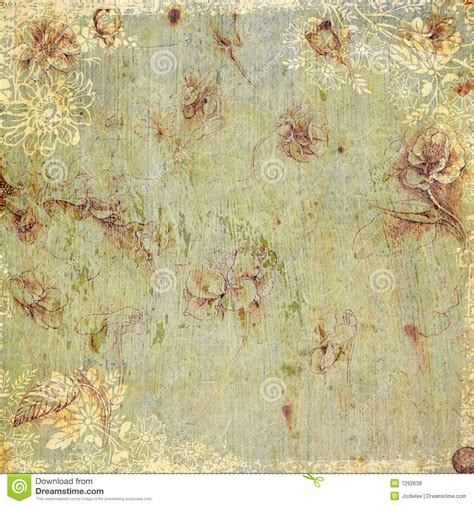 old vintage images vintage floral antique background theme royalty free stock