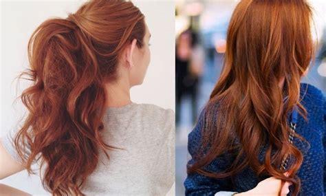 color cobrizo en el cabello colores de pelo que marcan tendencia en el pr 243 ximo 2017