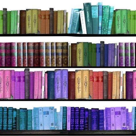 Cloth Book Shelf by Rainbow Books Bookshelf Fabric Inspirationz Spoonflower