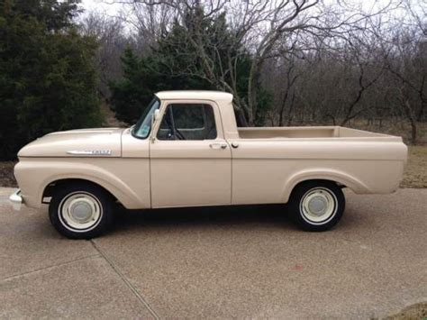 Ford Unibody Truck by 1962 Ford F 100 Unibody Up Truck