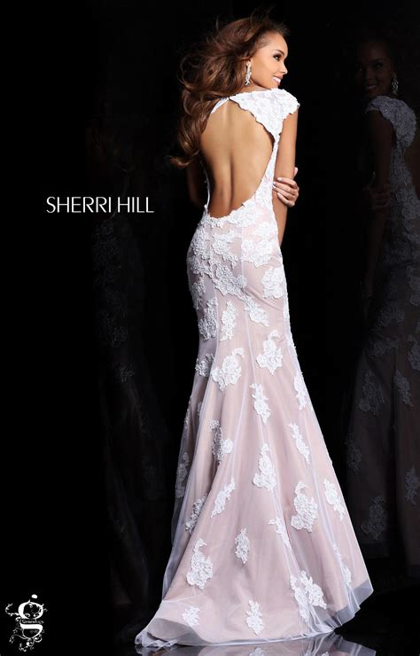 sherri hill  formal evening prom dress