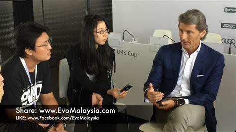 stephan winkelmann house evo malaysia com interview with stephan winkelmann youtube