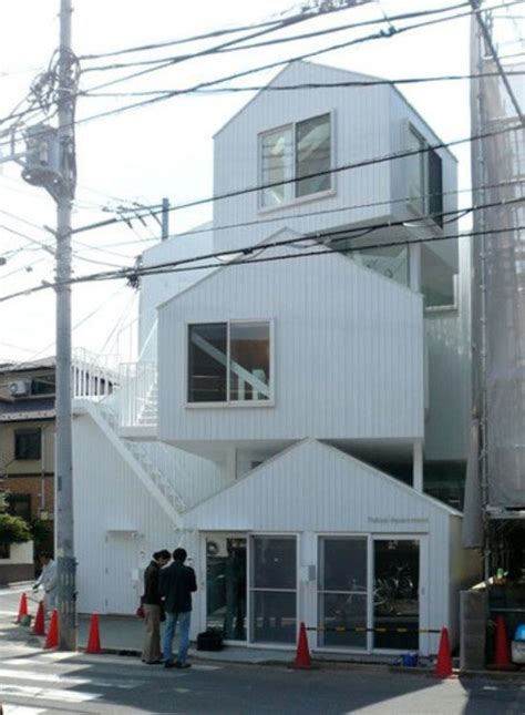 stacked houses design  sou fujimoto  tokyo
