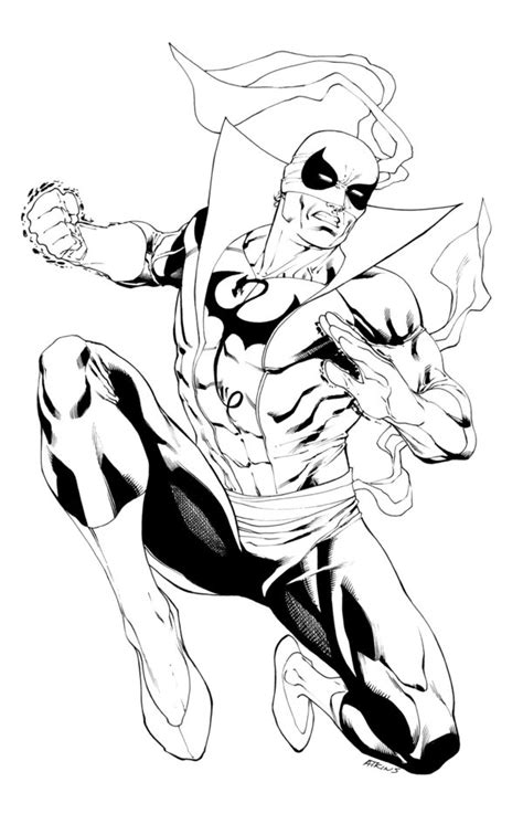 iron fist sotd by robertatkins on deviantart