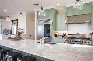 White And Blue Kitchen Cabinets by 23 Beautiful Beach Style Kitchens Pictures Designing Idea