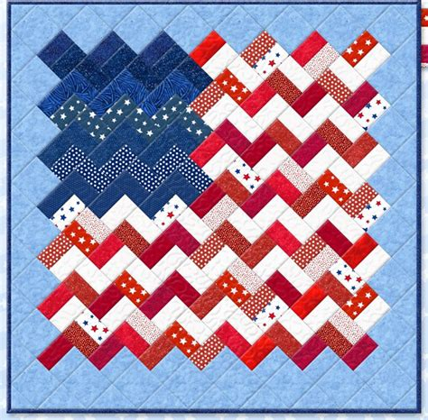 Flag Quilt Pattern by Quilt Inspiration Free Pattern Day Patriotic And Flag Quilts
