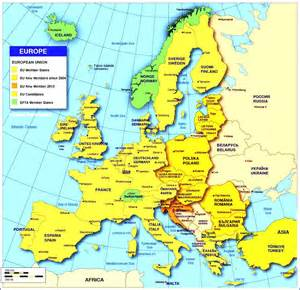 map europe europe maps with countries and capitals map of member