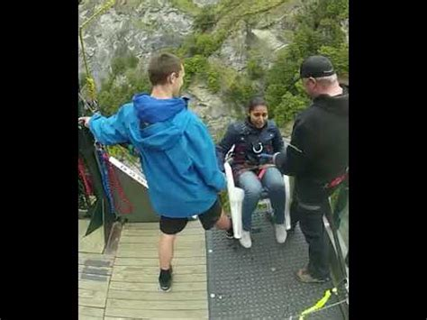 Bungee Jumping Chair - bungee jumping while to chair