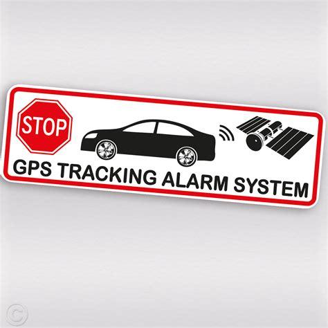 Aufkleber Auto Alarmgesichert by Auto Alarm Aufkleber Alarmgesichert Attrappe Sticker Mit