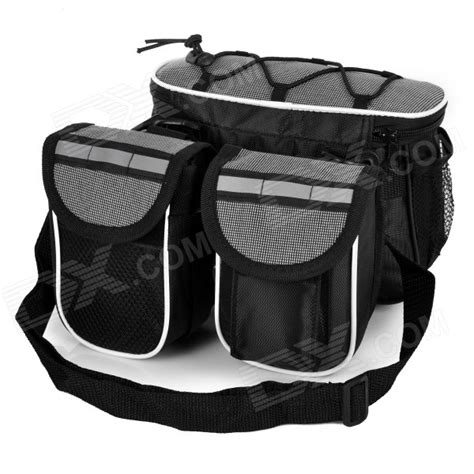 Bicycle Storage Bag Black yanho multifunctional bicycle handlebar mounted storage