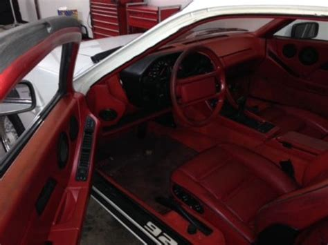 How To Get Lipstick Out Of Car Upholstery by Purchase Used 1987 Porsche 928 S4 Lipstick
