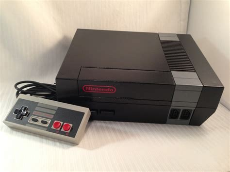 nintendo nes console custom black nintendo nes console ntsc nes 001 with new
