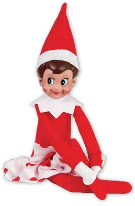 girl elf on the shelf set claus couture skirt at growing
