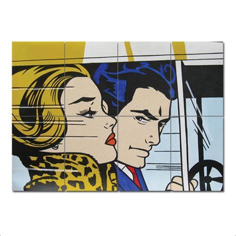 Roy Lichtenstein Block Giant Wall Art Poster