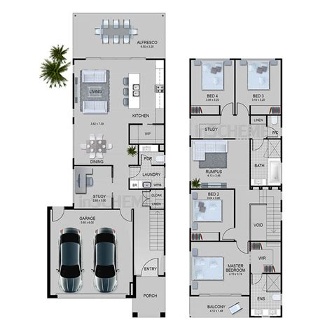 Duplex Floor Plans With Garage by Best 25 Duplex Plans Ideas On Pinterest Duplex House