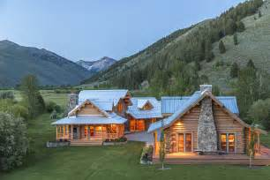 impressive ranch in the heart of wood river valley home custom ranch homes design