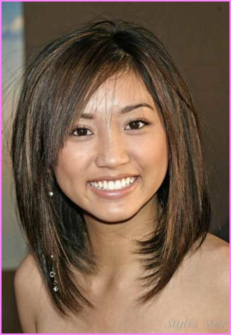long bob for heavy face medium length inverted bob haircut http stylesstar com