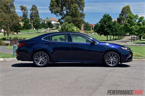 blue lexus 2016 lexus es 350 sports luxury review video