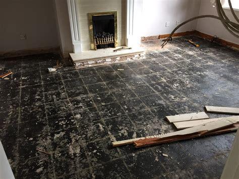 Concrete floor with bitumen paint   more bitumen or seal