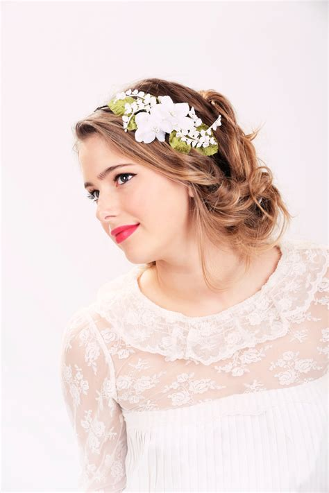 Wedding Hair With Headband by Wedding Hairstyles With Flower Headband