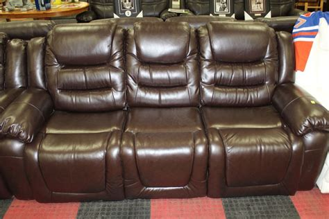 chocolate brown leather reclining sofa new chocolate brown leather reclining sofa and