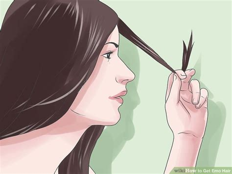 emo hairstyles wikihow how to get emo hair with pictures wikihow