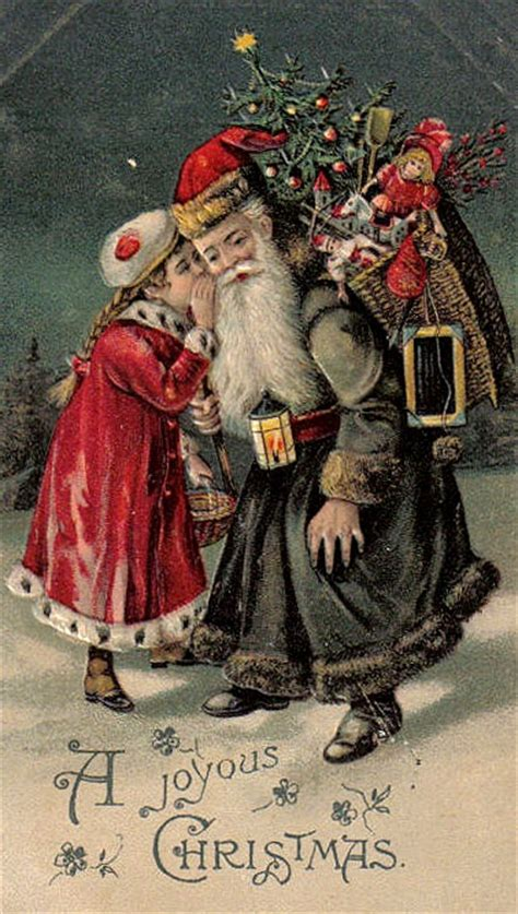 world santas images  pinterest father christmas papa noel  vintage santas