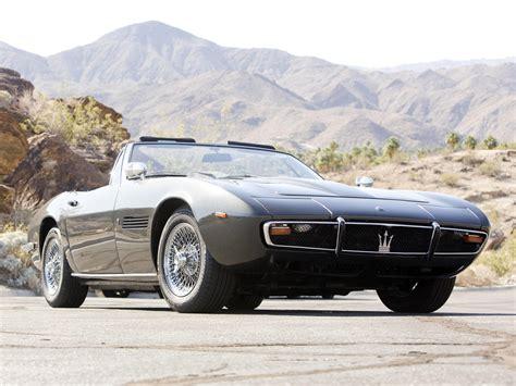 1969 Maserati Ghibli by Maserati Ghibli Spyder Am115s 1969 73