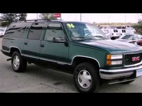 how to fix cars 1996 gmc suburban 2500 navigation system 1996 gmc suburban problems online manuals and repair information