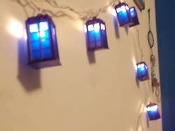 doctor who tardis christmas lights pics global geek news