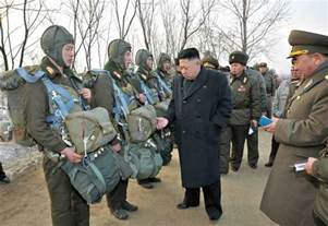 North Korea by Kim Jong Un Inspects North Korean Army Unit Photos