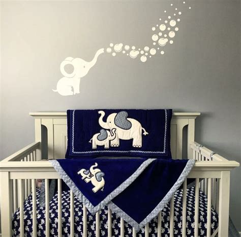 Elephant Curtains For Nursery Elephant Themed Nursery Boy Thenurseries