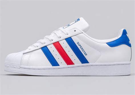 Adidas White Blue adidas superstar white blue bb2246 sneakernews