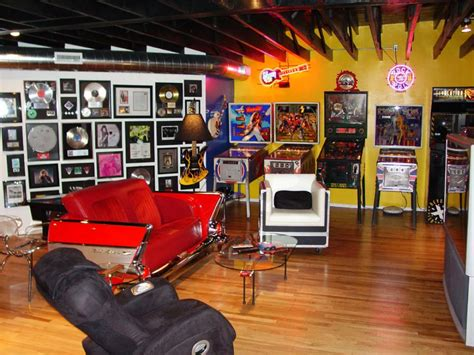 Rock N Roll Home Decor by 8 Dude Tastic Man Caves Hgtv