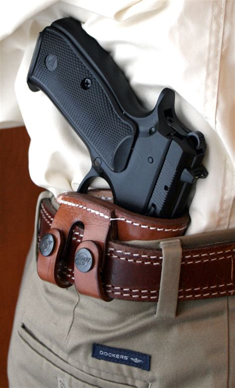 most comfortable inside the waistband holster deep concealment tuckable iwb holster 7 62 precision