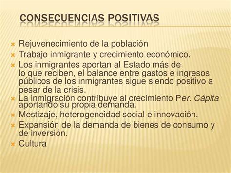 Imagenes Positivas Y Negativas De La Migracion Interna | inmigraci 243 n